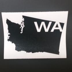 Washington Map Vinyl