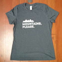 Wmns Mountains Please T-Shirt