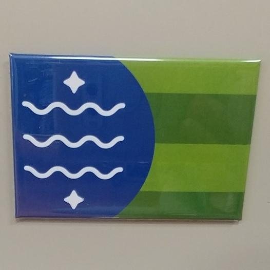 Bellingham Flag Magnet