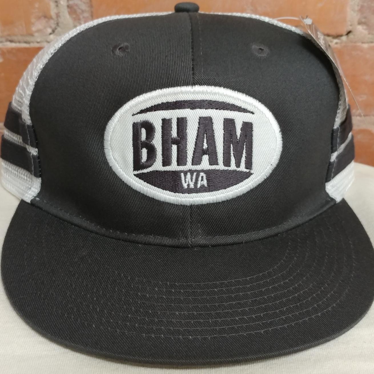 BHAM Grey White
