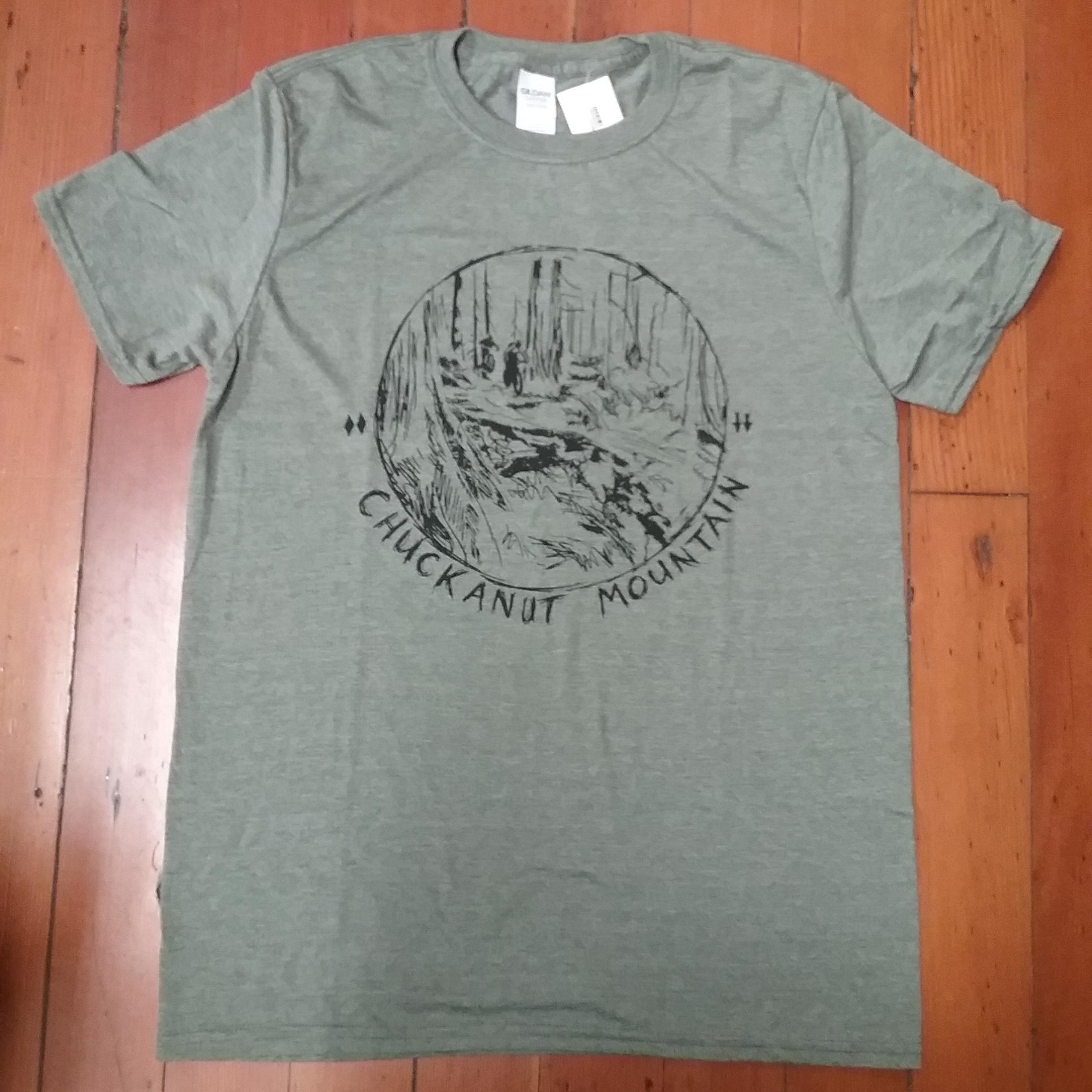 Chuckanut Bike Scene T-Shirt