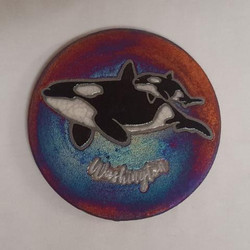 Raku Coaster Orca