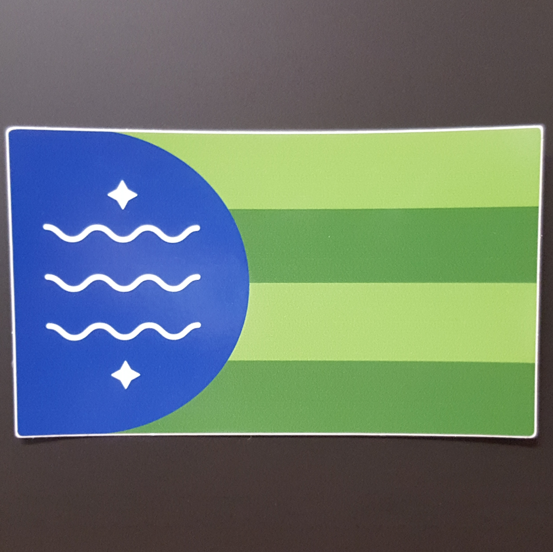 Bellingham Flag Sticker