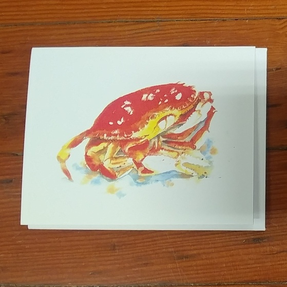 Beth Roberson Crab Card