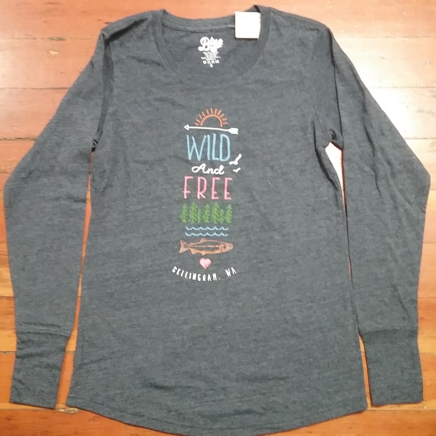 Wild and Free Long Sleeve Womens