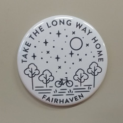 Long Way Fairhaven Magnet