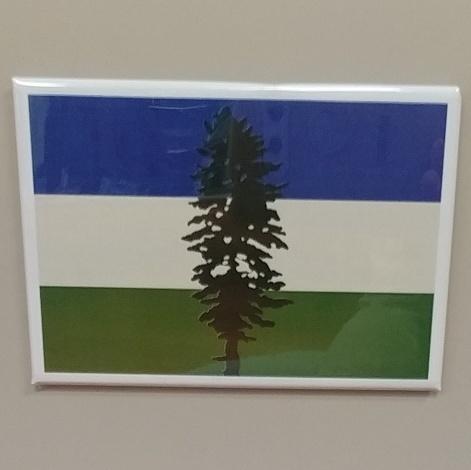 Cascadia Flag Magnet