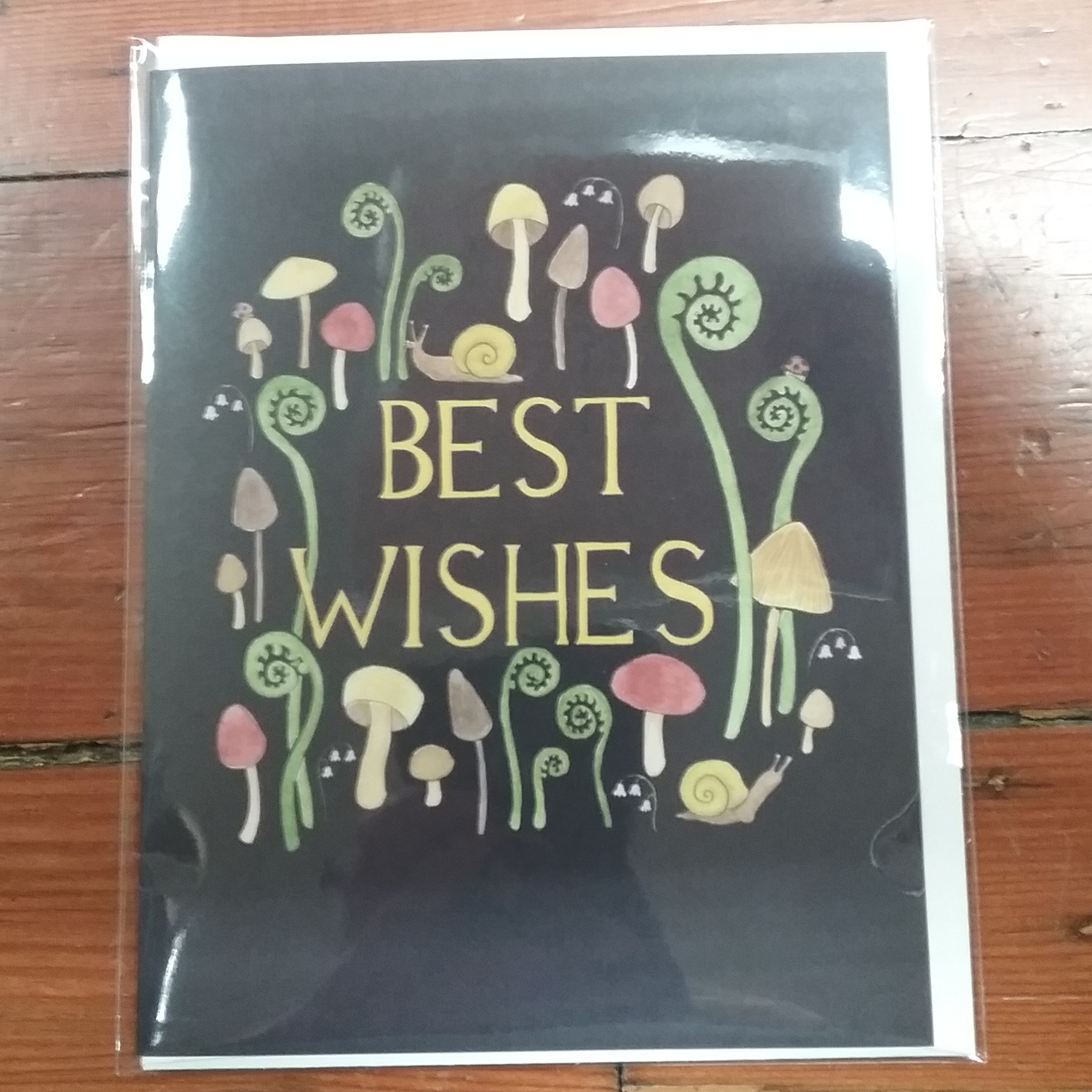 Birthday Mushrooms Card