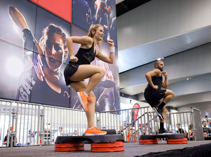 FIND THE SPRING IN YOUR STEP AT THE FITNESS SHOW