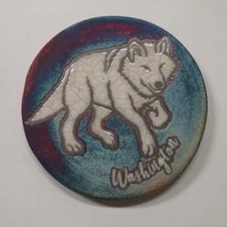 Raku Coaster Wolf