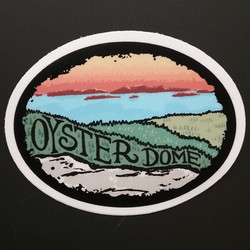 Oyster Dome Sticker