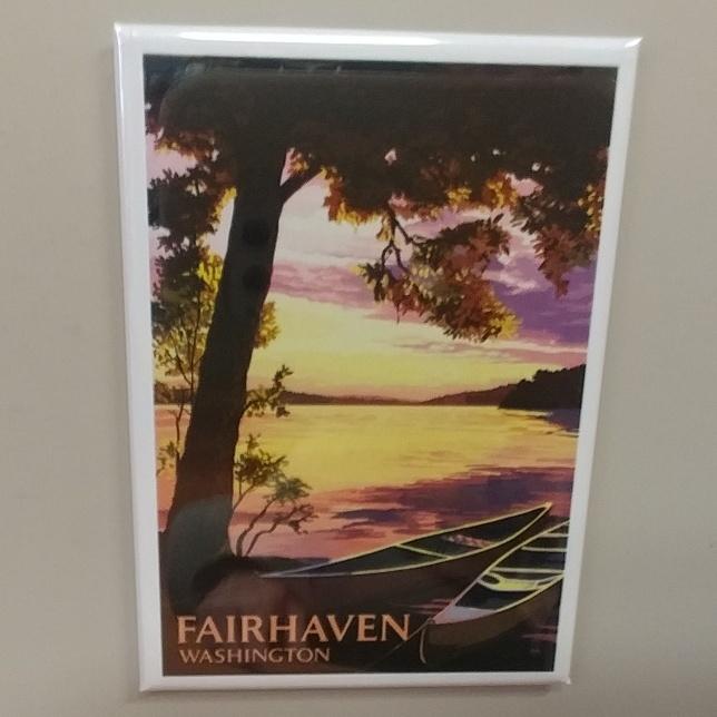 Fairhaven Canoes Magnet