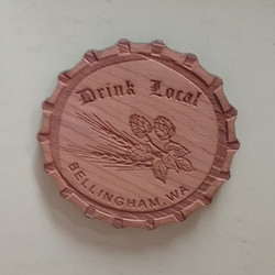Drink Local Bellingham Magnet