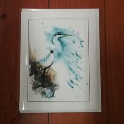 Beth Roberson Heron Card