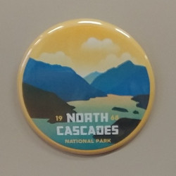 North Cascades NP Magnet