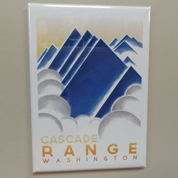 Cascade Range Washington Magnet