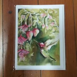 Beth Roberson Hummingbird Card