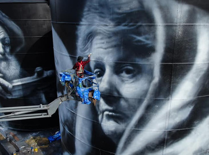 Grampians celebrate 'Hope' as new Silo Art is unveiled