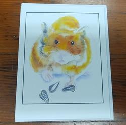 Beth Roberson Hamster Card