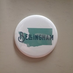 Bellingham WA State Magnet