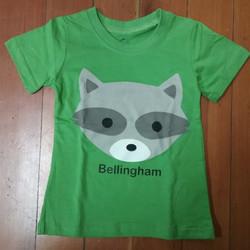 Raccoon Bellingham Kids T-Shirt