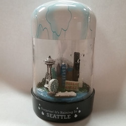 Seattle RainGlobe