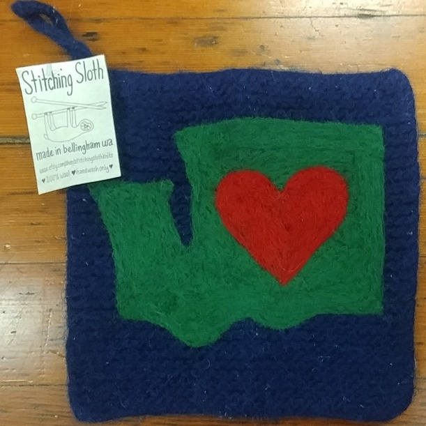 Pot-Holder Heart in WA