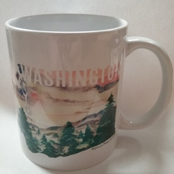 Washington Watercolor Mug