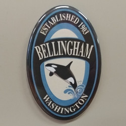Jumping Orca Bellingham Magnet