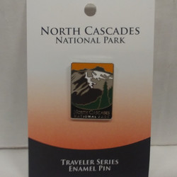 North Cascades Traveler Pin