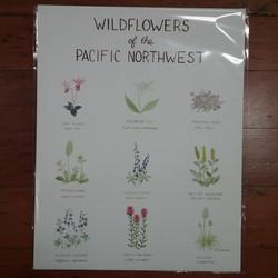 Wildflowers Print