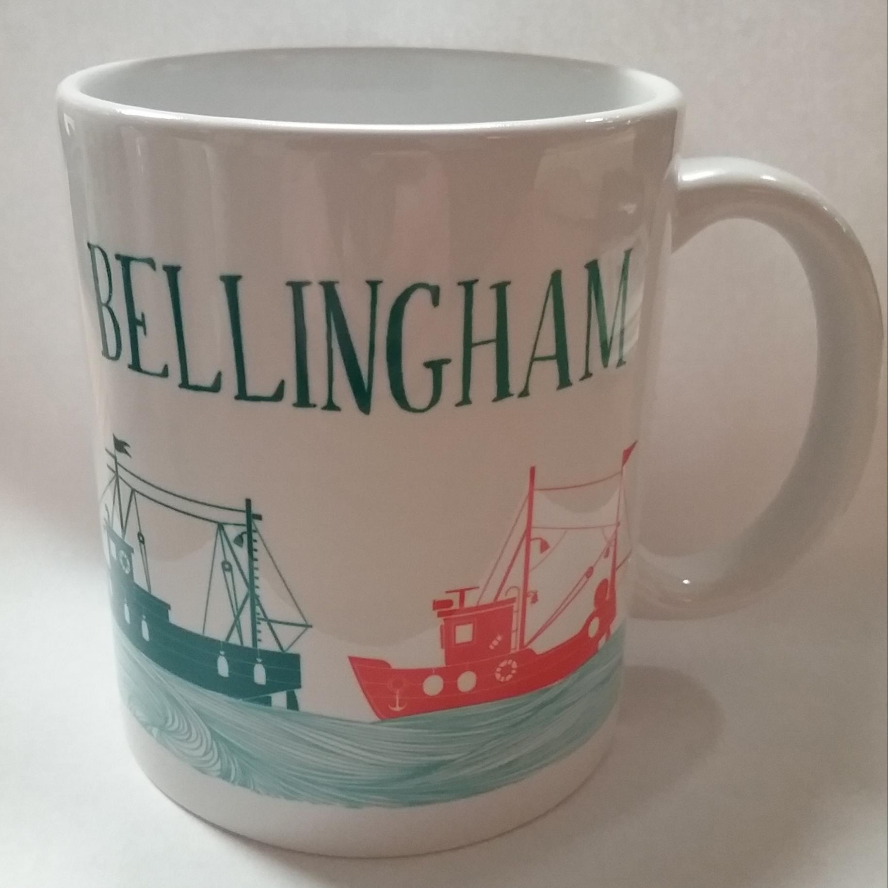 Bellingham Boats Mug