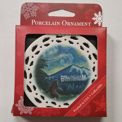 Ornament Big Foot Starry Night