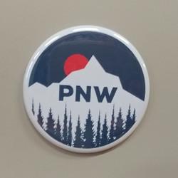 PNW Sun Setting Magnet