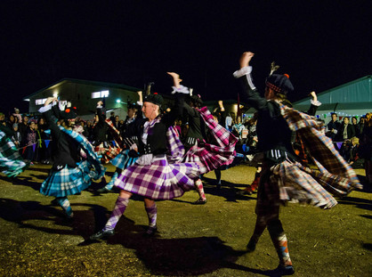 REGIONAL CHARM GIVES BACKDROP TO THE ANNUAL NATIONAL CELTIC FESTIVAL