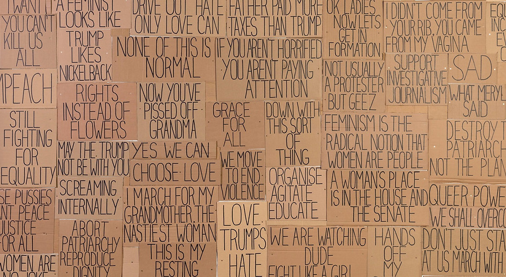 Sarah Goffman, 'I am with you', 2017, (crop) Photo: Andrew Curtis