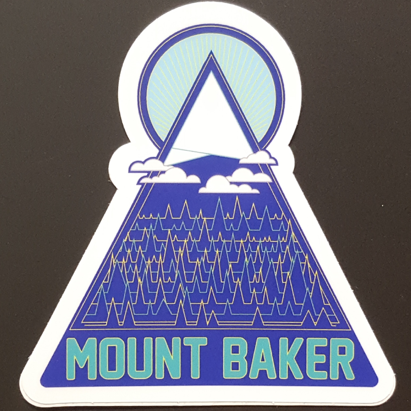 Mount Baker Sticker
