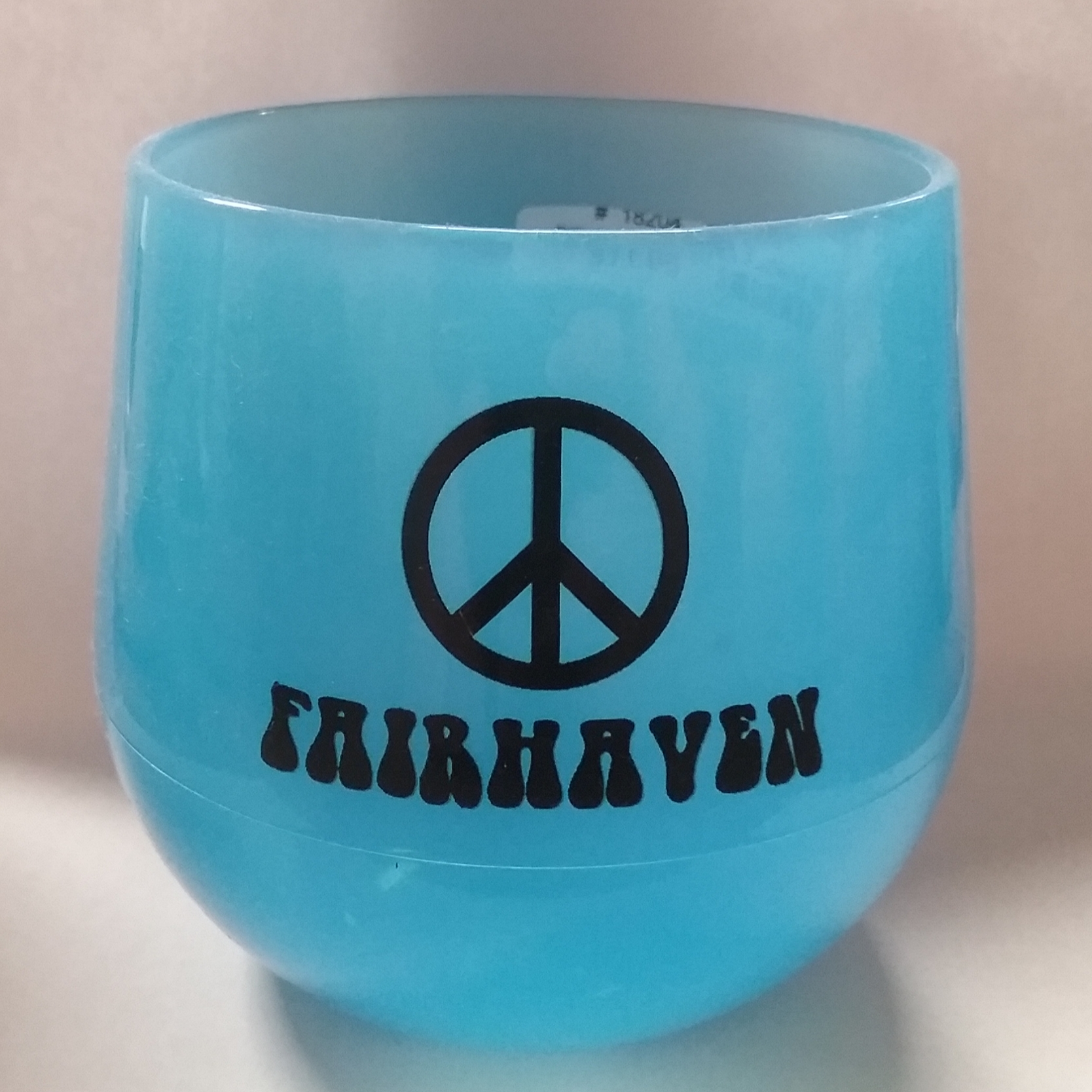 Fairhaven Peace SiliPint Wine Glass