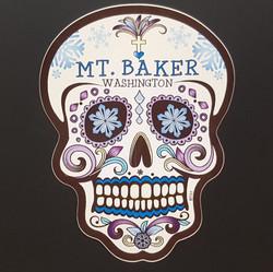 Mt. Baker Sugar Skull