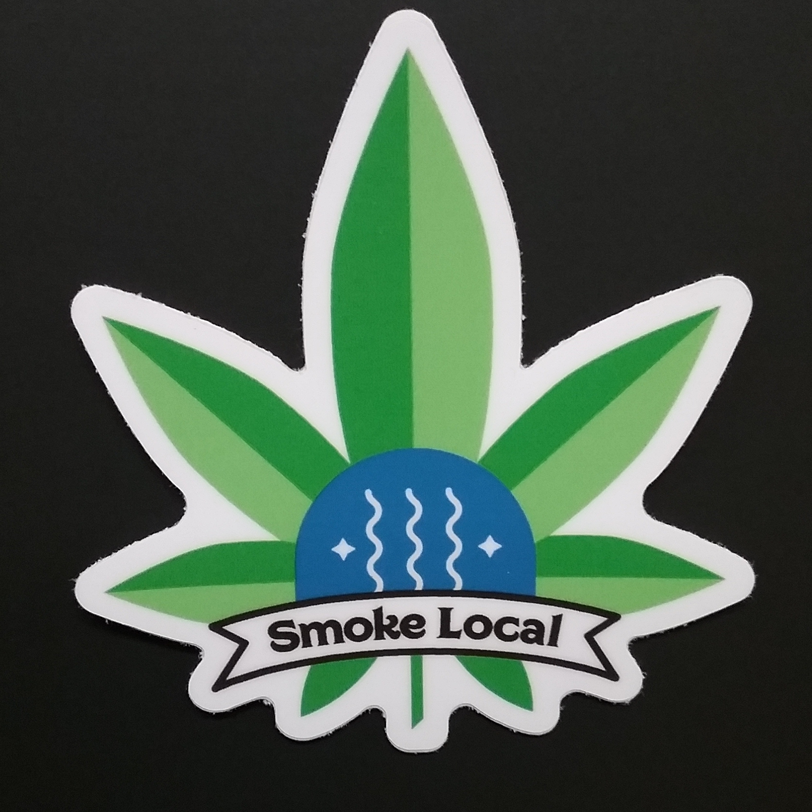 Smoke Local Sticker