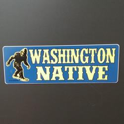 Bigfoot WA Native