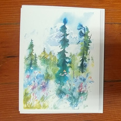 Beth Roberson Mountains Card