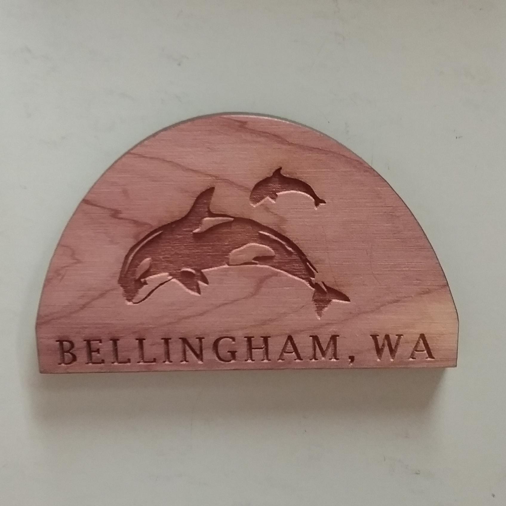 Bellingham Orca Magnet