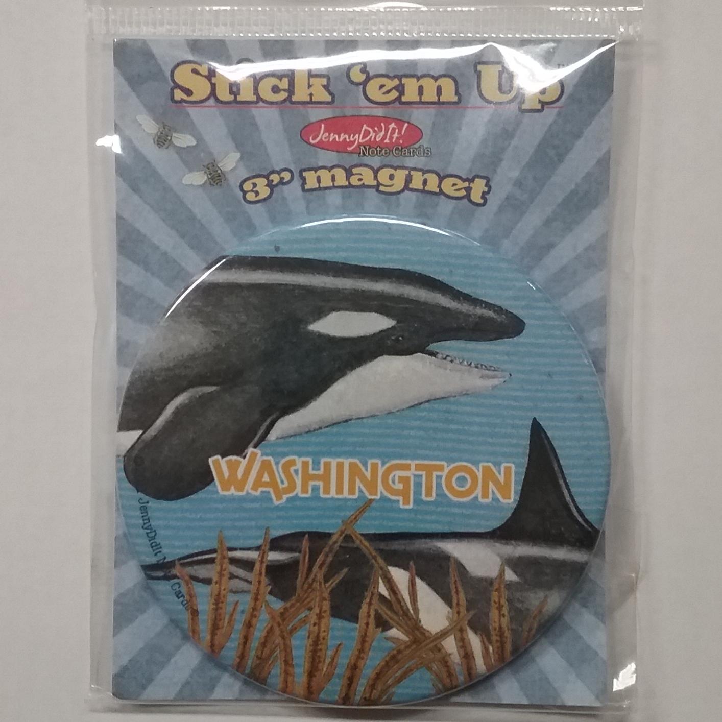 Magnet WA Orca