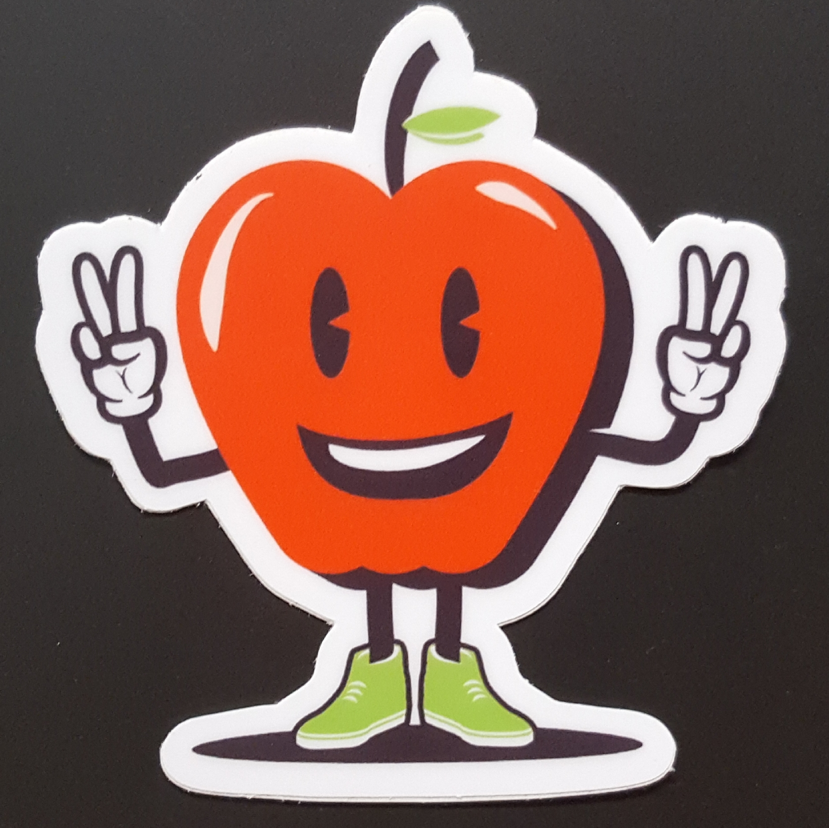 Evan Dahl Apple Sticker