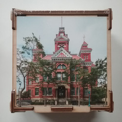 City Hall Wood Puzzle