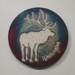 Raku Coaster Elk