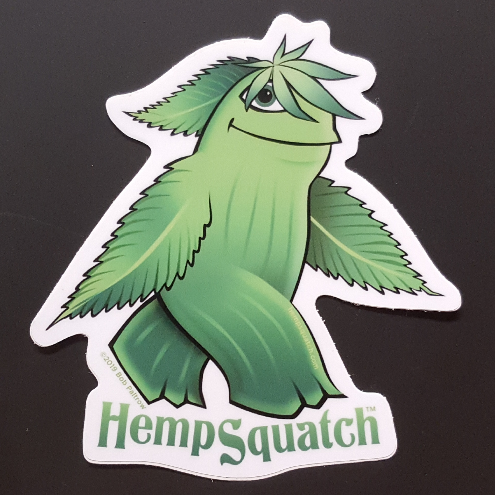Hemp Squatch Sticker