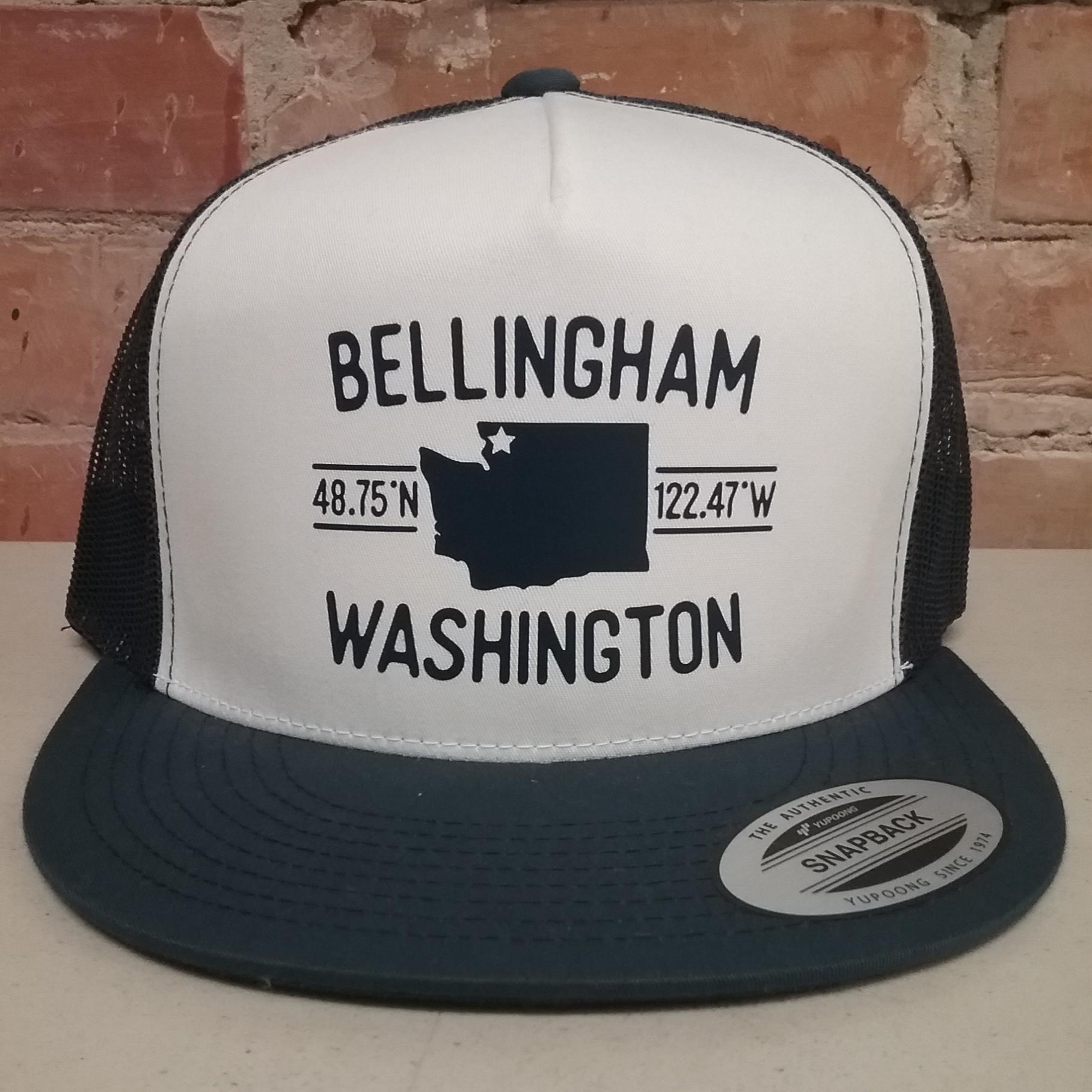 Bellingham Coordinates Hat
