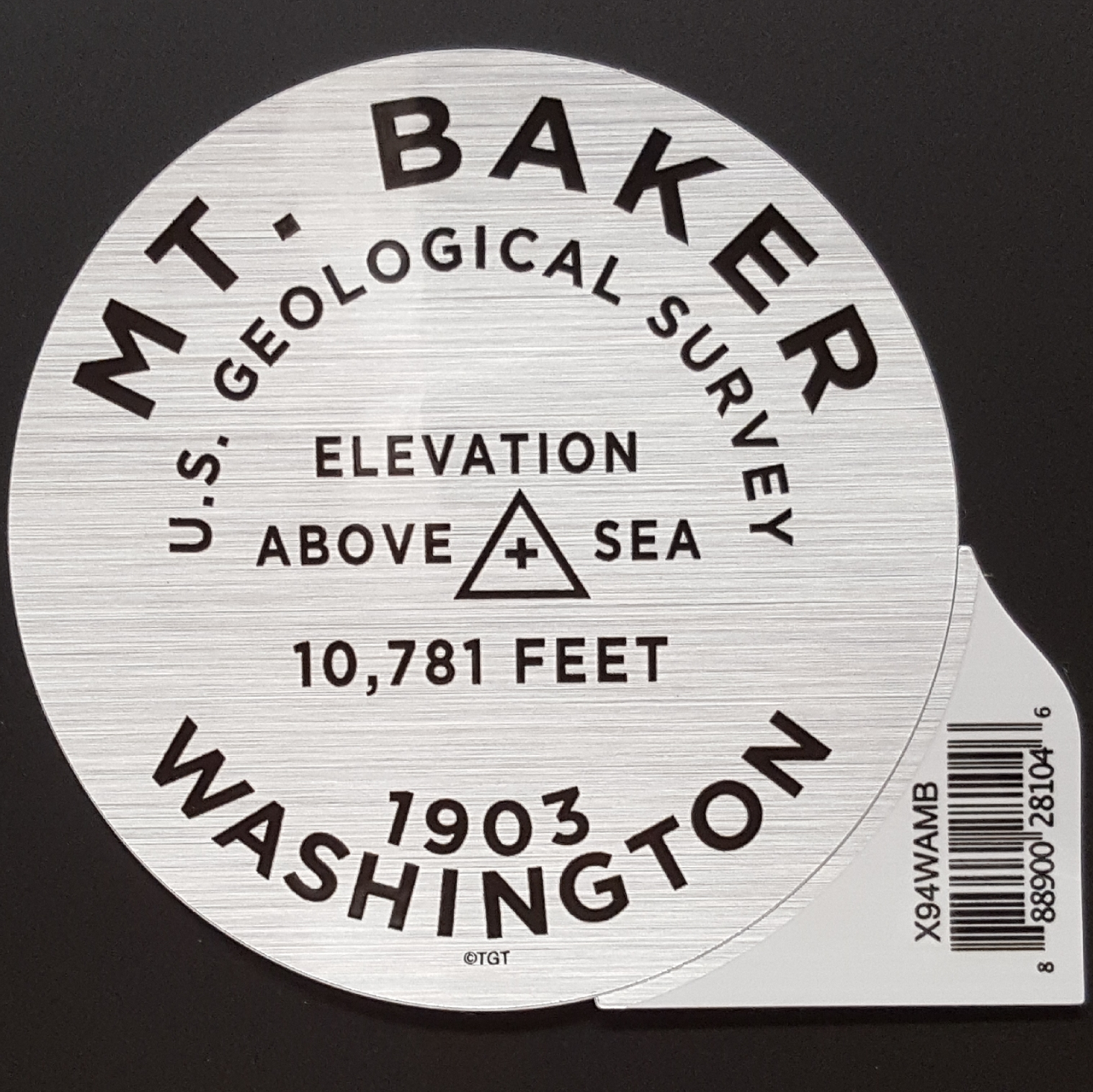 Mt. Baker Elevation